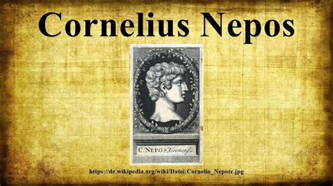 Cornelius Nepos cornelius nepos