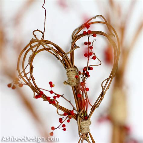 Of Hearts Decoration Ideas by Ashbee Design Ideas Diy Twig