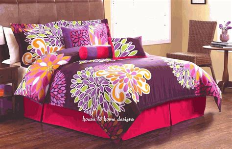 purple flower comforter set flower show purple comforter set