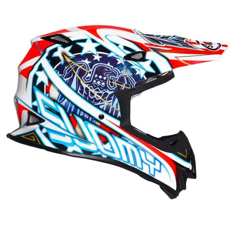 suomy motocross helmets suomy mr jump motocross helmet eagle white