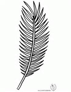 Palm Branch Template by Palm Branch Coloring Page Coloring Home
