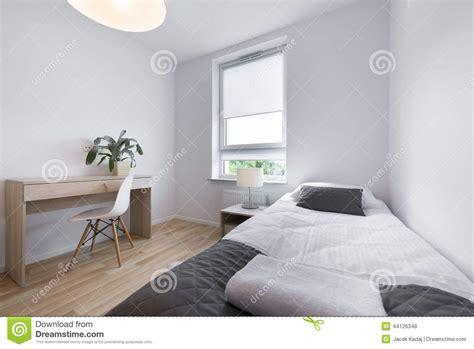 sleep room design small modern sleeping room interior design stock photo