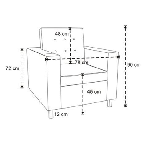 Furniture Standard Dimensions In Cm by Sofa Chair Measurements Search Architecture