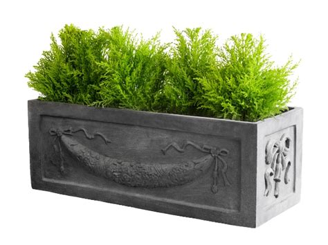 Decorative Planter Boxes by Fibreglass Decorative Window Box Planter H27cm X W74cm 163