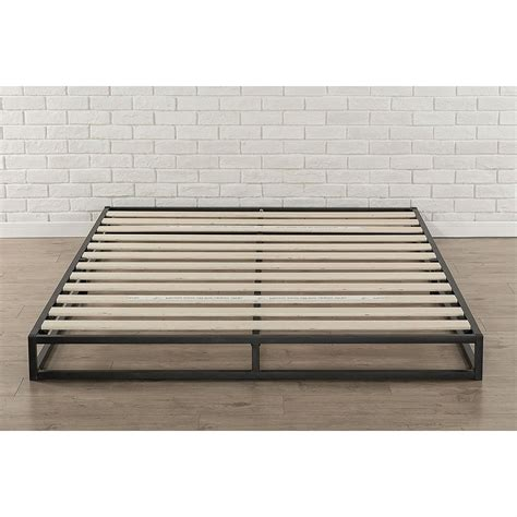 Size Bed Slats by Size 6 Inch Low Profile Metal Platform Bed Frame With
