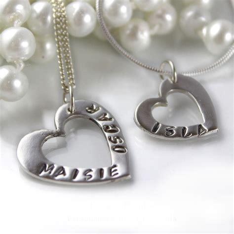 personalised pendant impressions to keep