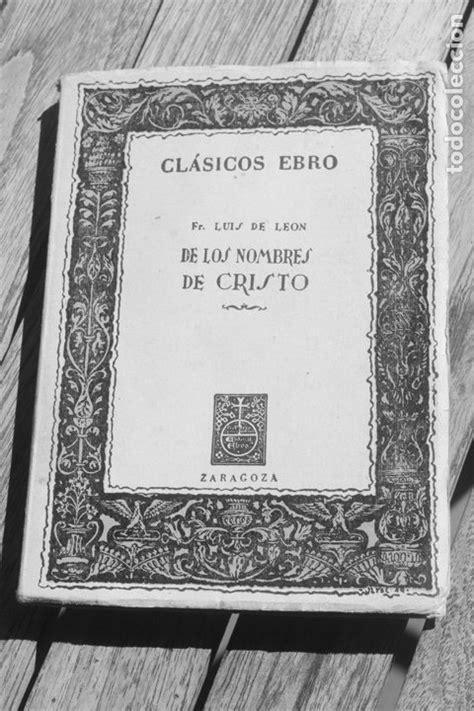 los nombres de cristo - Comprar en todocoleccion - 178291953