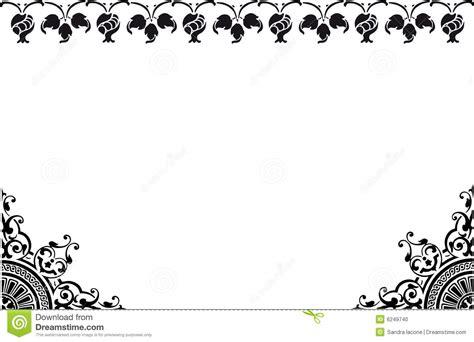 frame black and white stock illustration image of
