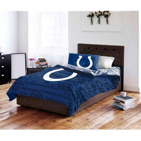 Colts Bedding by Nfl Indianapolis Colts Bedding Set Walmart