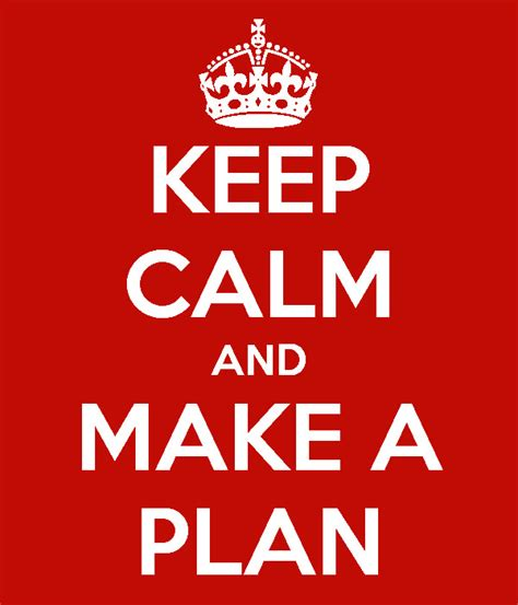 make plan let s make a plan it sux to be
