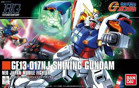 Gundam Hg 127 1 144 Shining Gundam 70960 Tb hgfc 127 shining gundam 1 144 usa gundam store