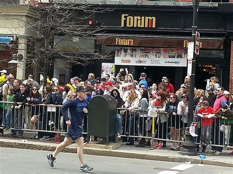 Fifteen Waiter Running The Marathon 2 by Boston Bombing Day 2 The Improbable Story Of How