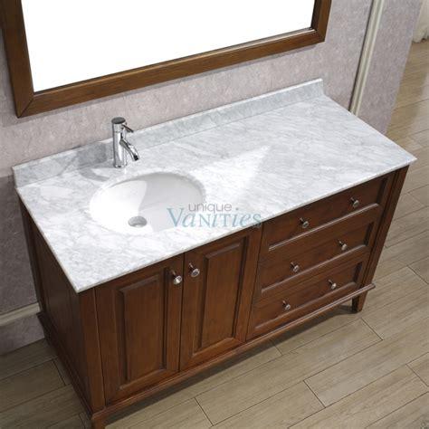 48 vanity with sink 48 bathroom vanity with offset sink my web value