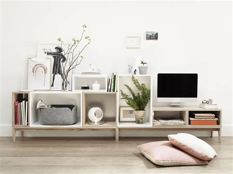 Stacked L by Muuto Stacked Syst 232 Me De Rangement Modulable