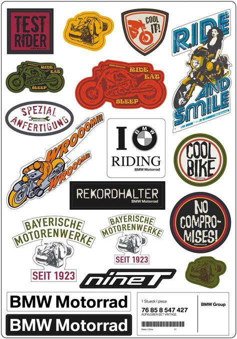 Bmw Motorrad Sticker Set by Bmw Motorrad Rider S Equipment Style 2014 Vintage Sticker