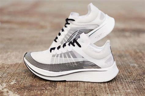 Original Bnib Nike Zoom Fly Black White nikelab zoom fly white black aa3172 101 sneaker bar detroit