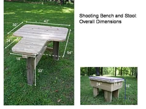 shooting bench building plans built my own shooting bench pictures woodworking