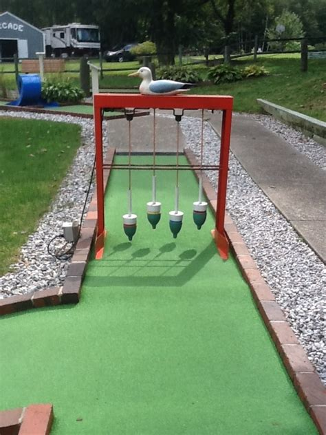 backyard putt putt buoys ideas mini golf pinterest