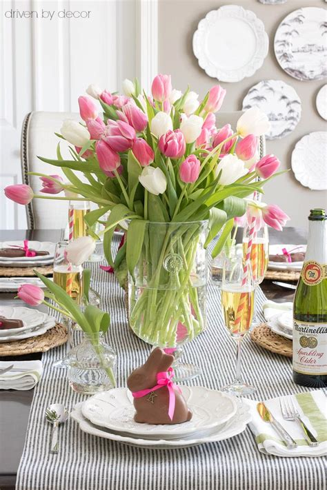 Unique Vase Filler Ideas Setting A Simple Easter Table With Decorations You Can