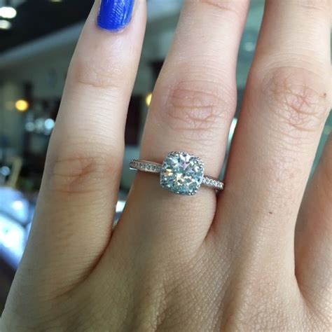 tacori engagement rings dantela halo setting 0 25ctw