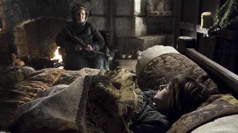 game of thrones bedroom game of thrones old nan foreshadowing bran time travel time