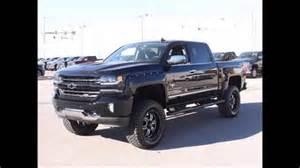 lifted 2016 chevy silverado 1500 ltz black widow