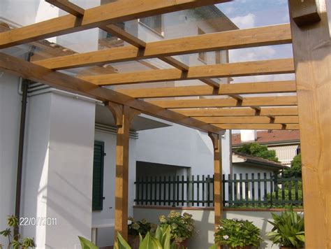 veranda coperta veranda coperta con lexan trasparente