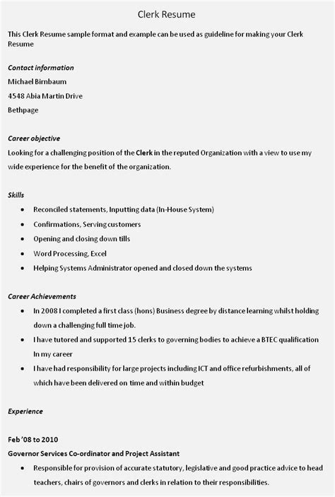 career objective exles accounting clerk entry level accounting clerk resume resume template cover letter