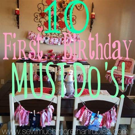 1st birthday ideas picmia
