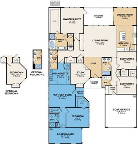 multigenerational house plans with two kitchens multi generational homes the sales team henderson real