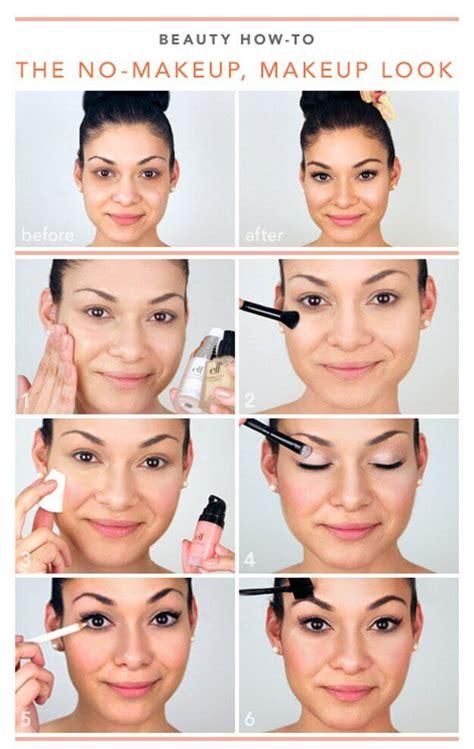 tutorial natural no makeup look 11 quot no makeup quot makeup tutorials perfect for spring belletag