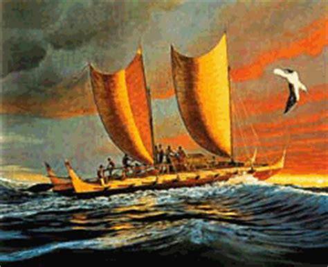 history of vinta boat polynesians
