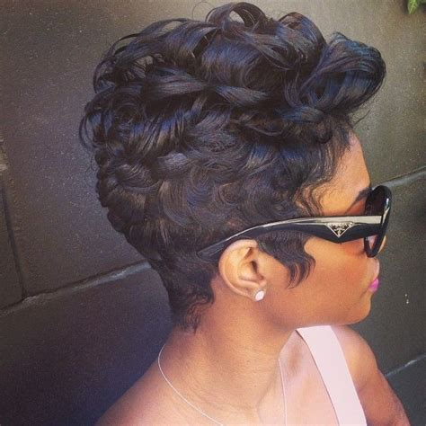 how to make african american short hair curly 22 easy short hairstyles for african american women