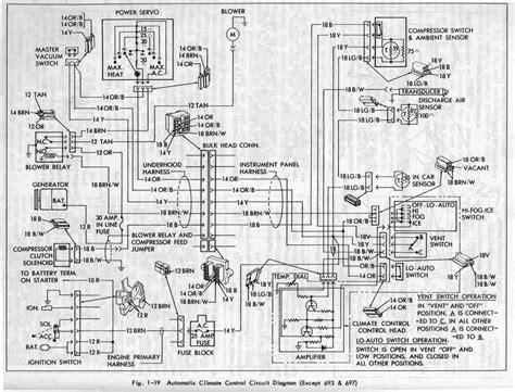 Cadillac Eldorado 1967 Automatic Circuit Diagram All