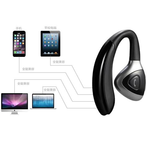 Business Wireless Bluetooth Headset S106 Black business wireless bluetooth headset s106 black jakartanotebook