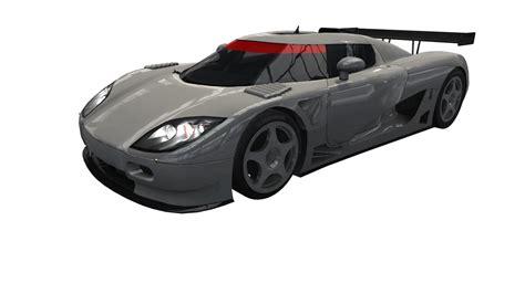 koenigsegg ccgt interior koenigsegg ccgt 3d model turbosquid 1260235