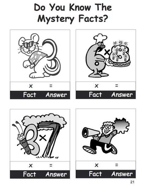times tables the way times tables the way activity e book
