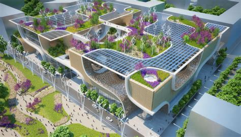Chicagos Eco Shopping Mall by This Futuristic Megamall Wants To Make Shopping Eco Friendly