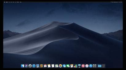 apples macos mojave   turn  dark mode