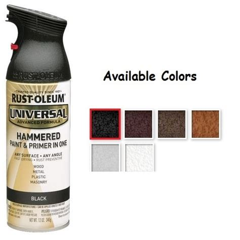 rustoleum spray paint colors hammered home painting