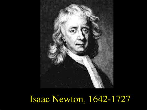 isaac newton biography with photo bob gardner s quot relativity and black holes quot classical mechanics