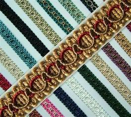 braid gimp trim edging 15mm wide 1 metre upholstery craft