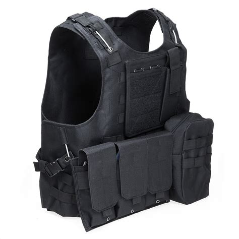 Vest Rompi Airsoft Swat army cs paintball go vest tactical swat field battle airsoft molle combat