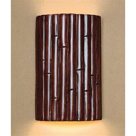 Bamboo Wall Sconces bamboo wall sconce bellacor