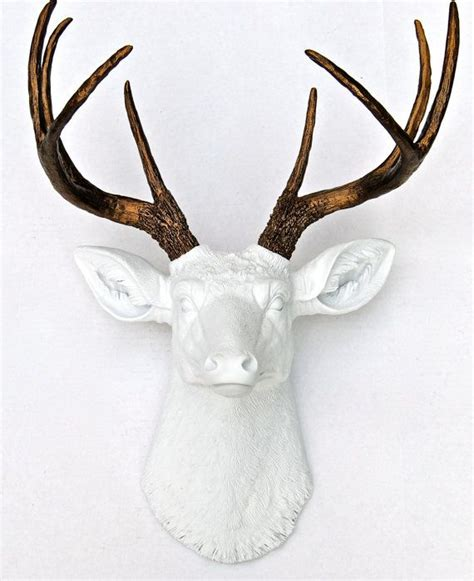 fake deer 17 best ideas about faux deer head on pinterest faux taxidermy deer heads and white deer heads