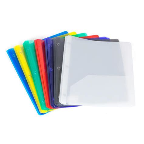 geo duo tang translucent polypropylene soft cover with 2