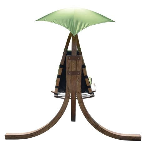 outdoor swing chair with stand hanging sky swing chair with stand green solid wood home