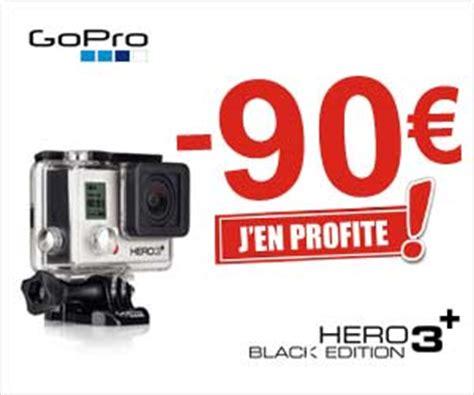 eoprice : pack caméra gopro hero 3+ black edition à partir