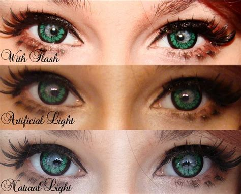 Geo Superangel Green Xcm 213 83 best images about circle lenses on color