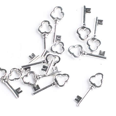 Harga Special Skeleton 2 Silver silver metal skeleton key charms favor charms tie ons wedding favors wedding supplies